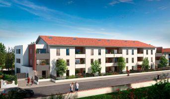 Toulouse programme immobilier neuve « Le Patio de Carmel »  (2)