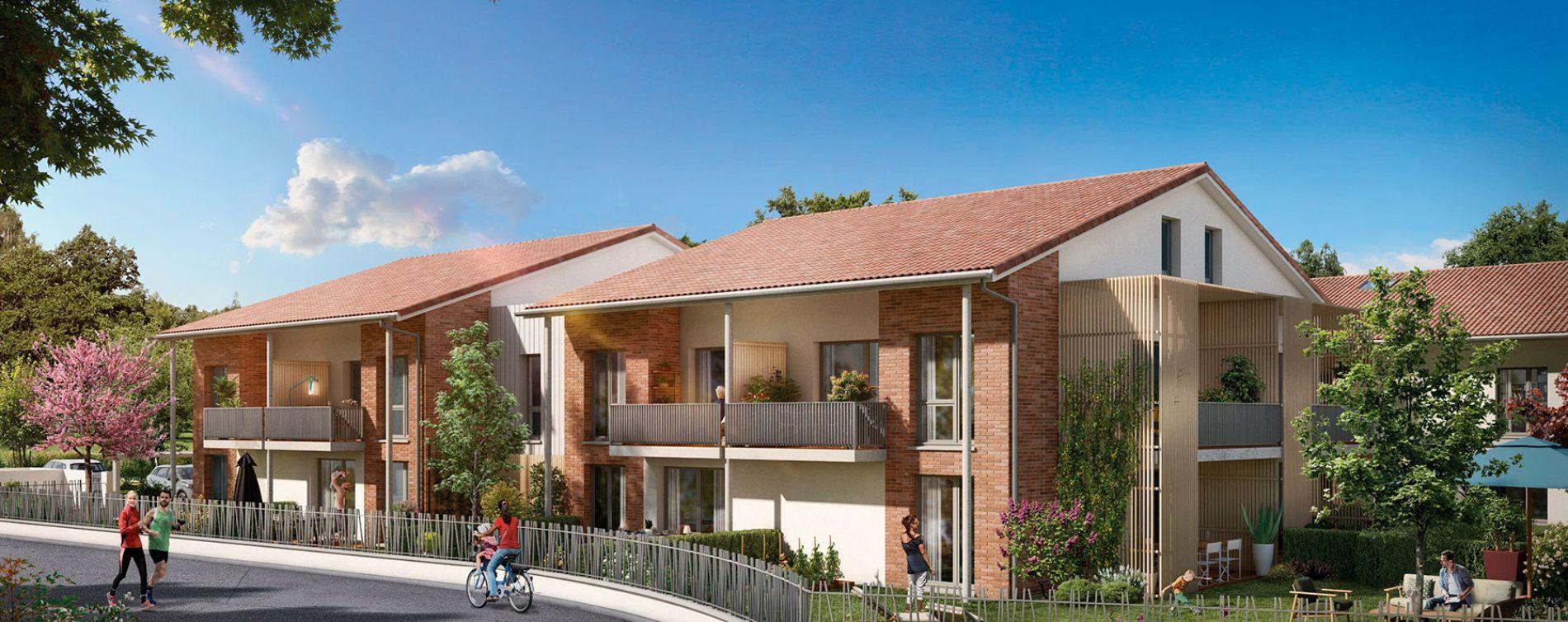 Toulouse : programme immobilier neuve « Le Val'Oriane »