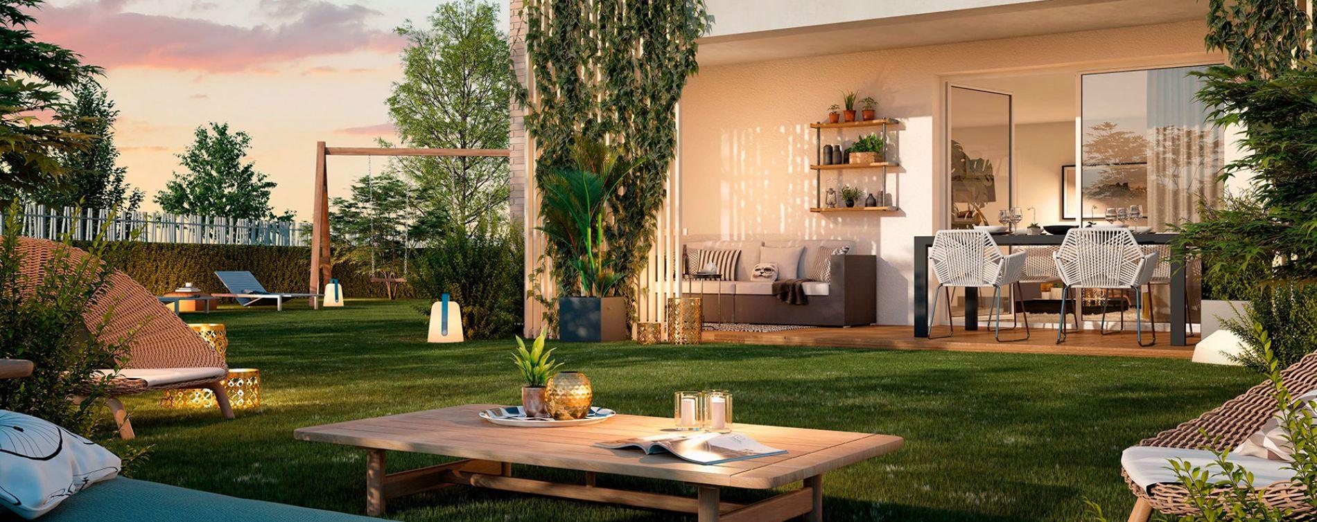 Toulouse : programme immobilier neuve « Le Val'Oriane » (2)