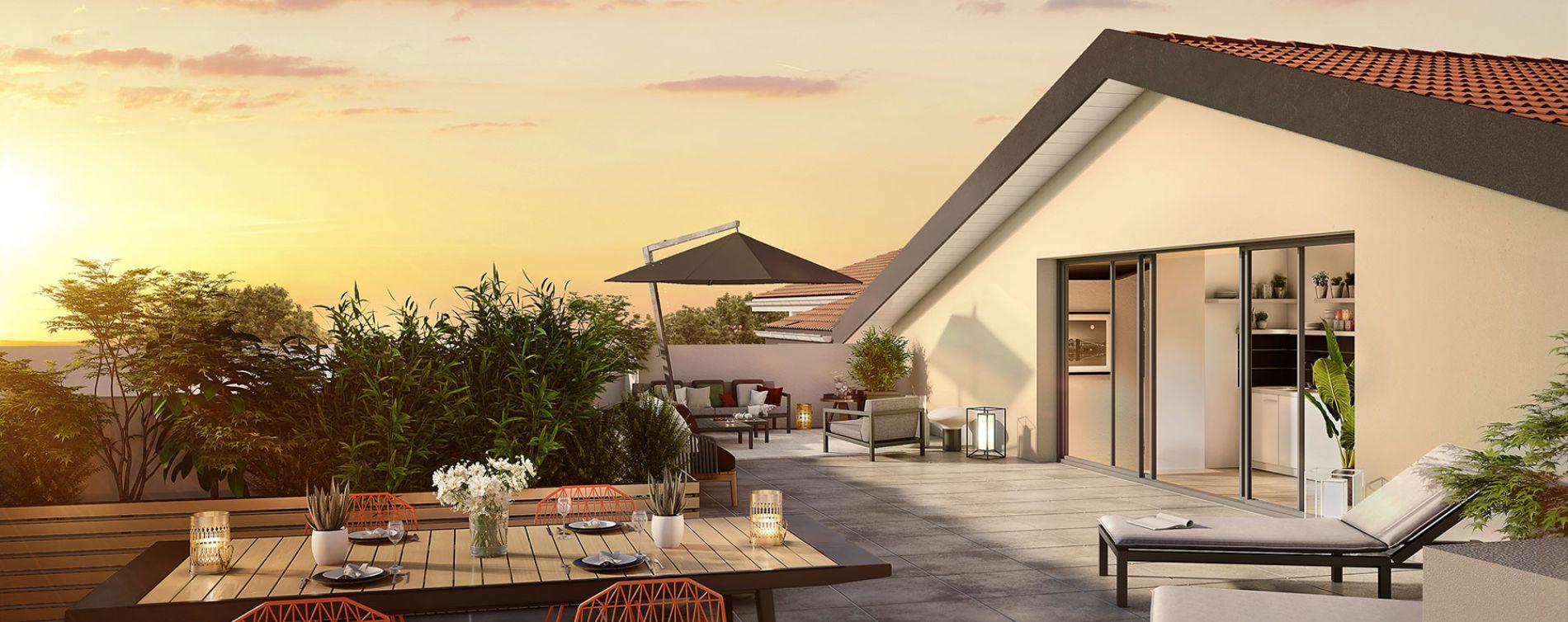 Toulouse : programme immobilier neuve « L'Ecrin de Paul » en Loi Pinel