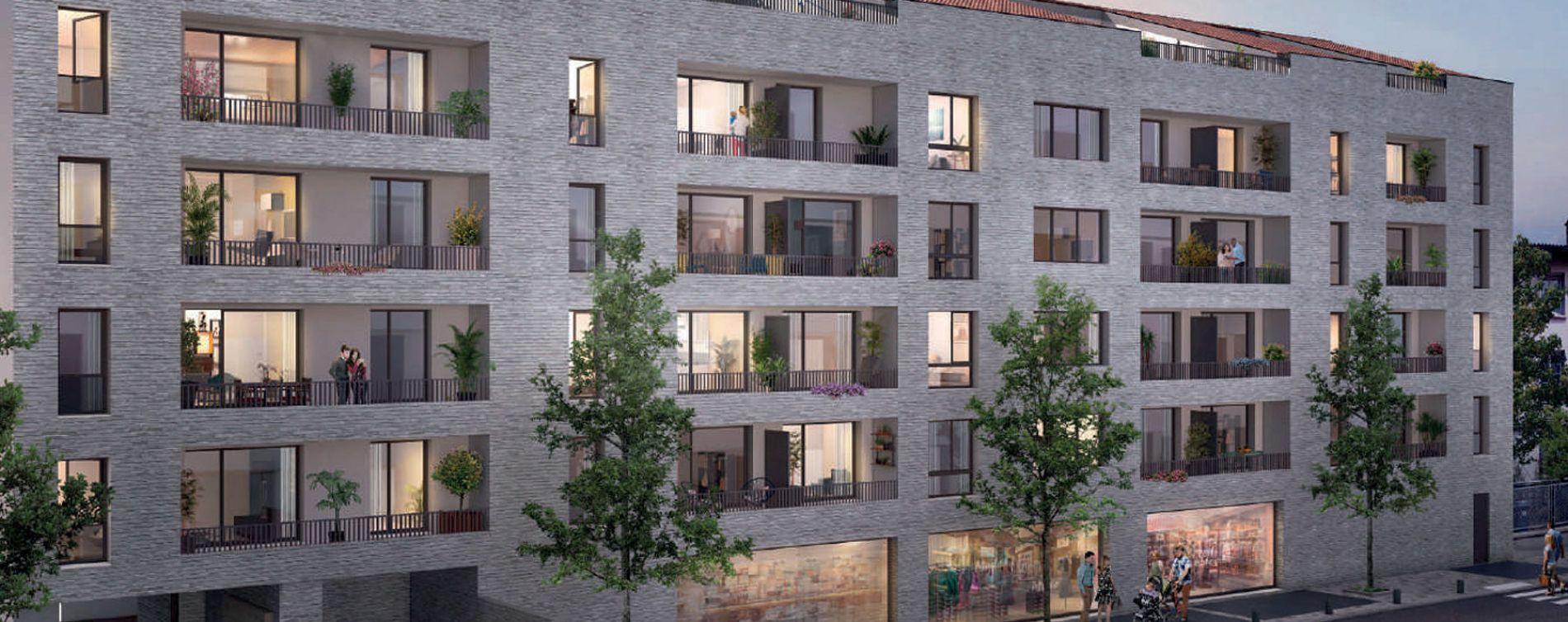 Toulouse : programme immobilier neuve « L'Ecrin de Paul » en Loi Pinel (2)