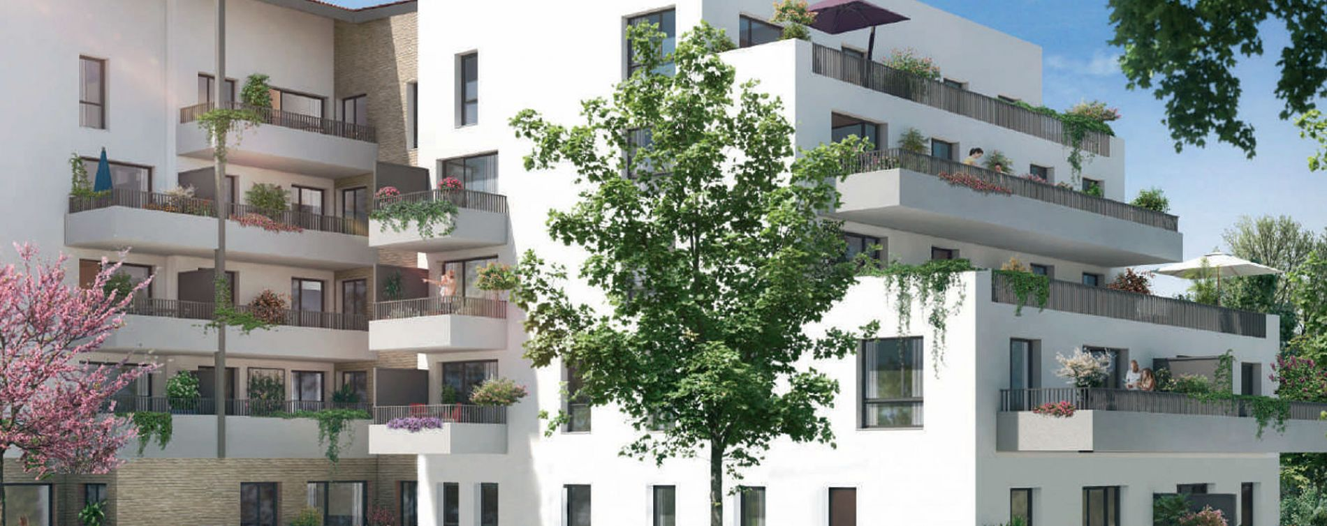 Toulouse : programme immobilier neuve « L'Ecrin de Paul » en Loi Pinel (3)