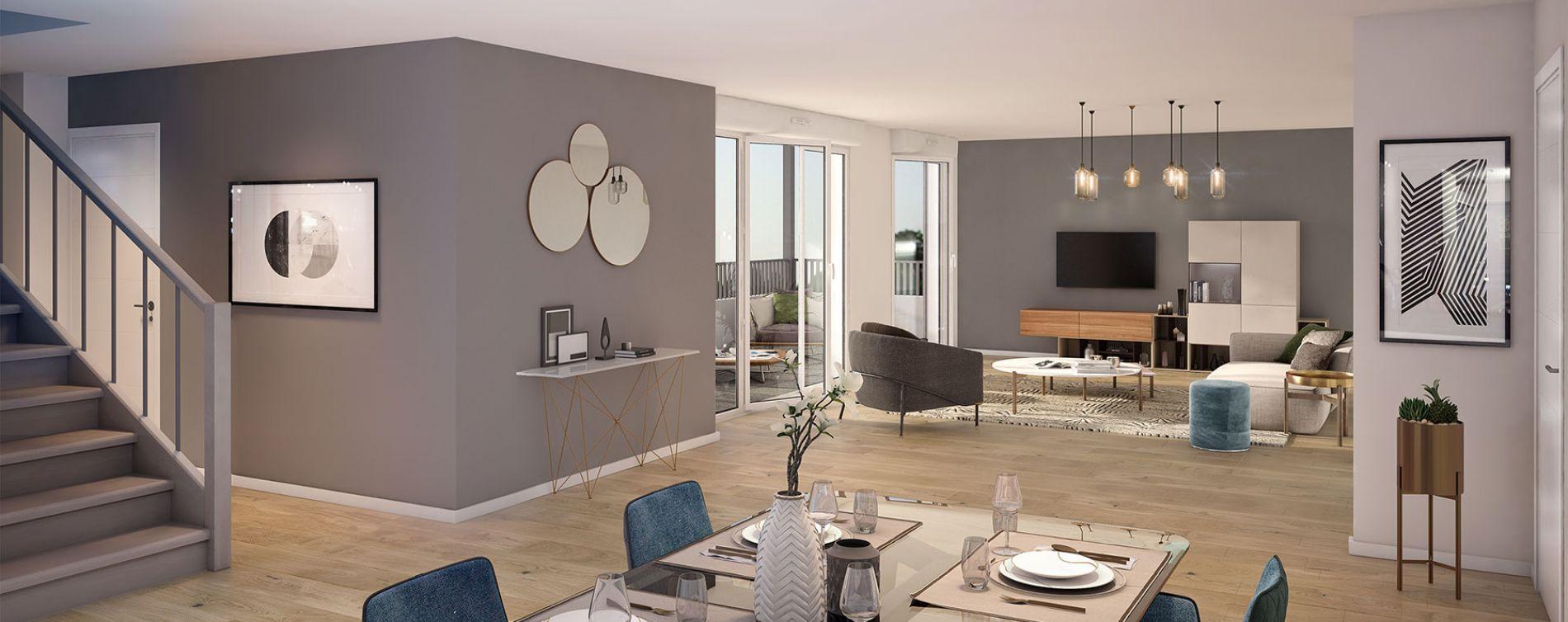 Toulouse : programme immobilier neuve « L'Ecrin de Paul » en Loi Pinel (4)