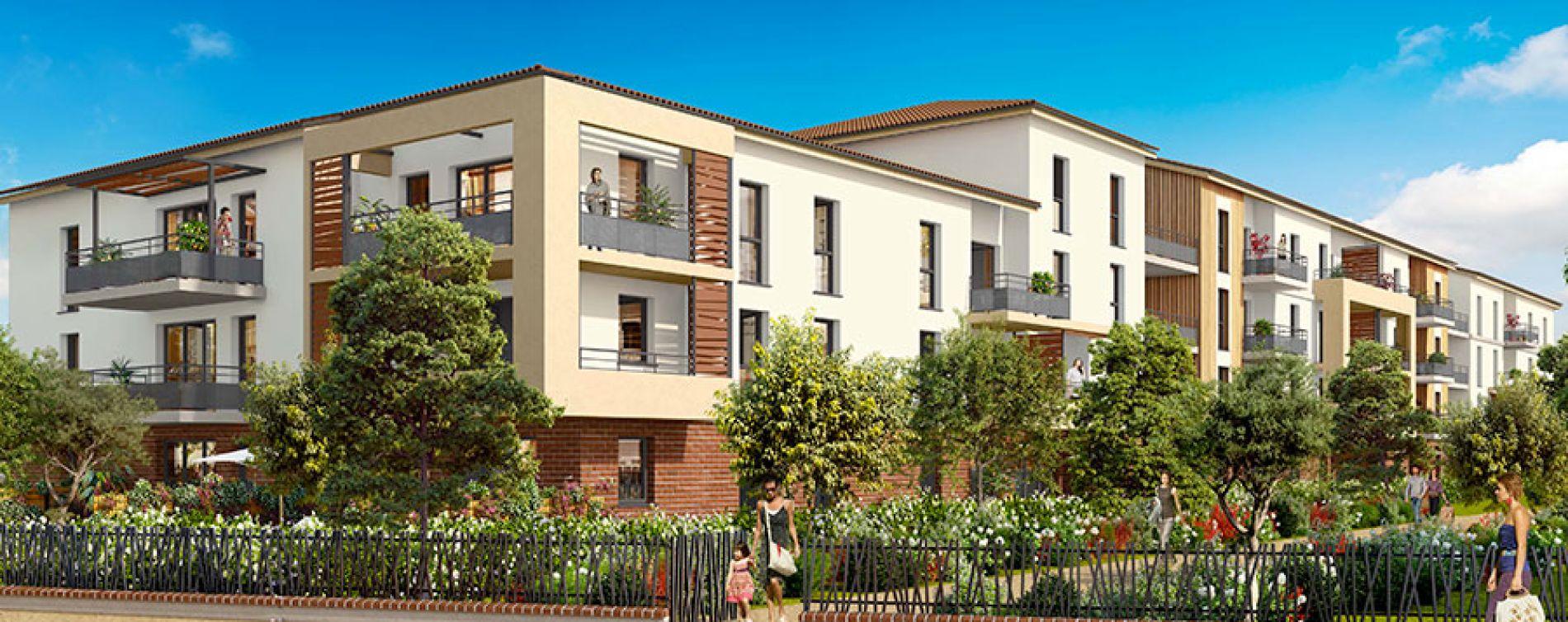 Toulouse : programme immobilier neuve « L'Encre et la Plume »