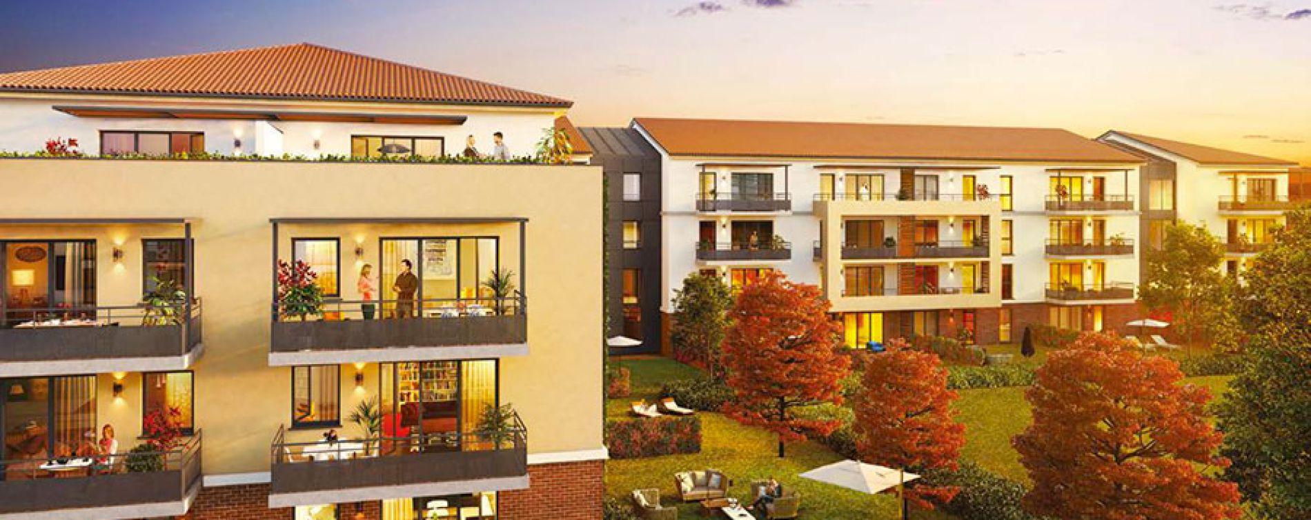 Toulouse : programme immobilier neuve « L'Encre et la Plume » (2)