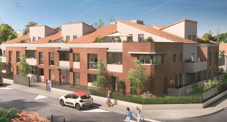 Photo du Résidence « Léona » programme immobilier neuf en Loi Pinel à Toulouse