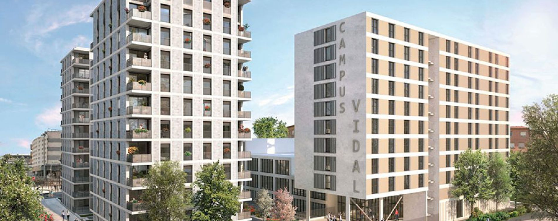 Toulouse : programme immobilier neuve « Les Arènes » en Loi Pinel