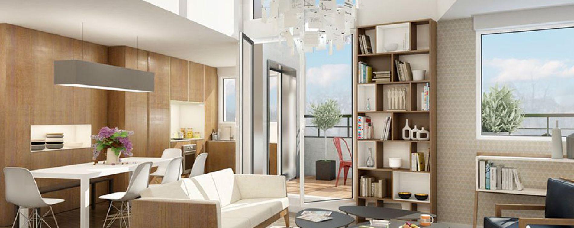 Toulouse : programme immobilier neuve « Les Arènes » en Loi Pinel (3)