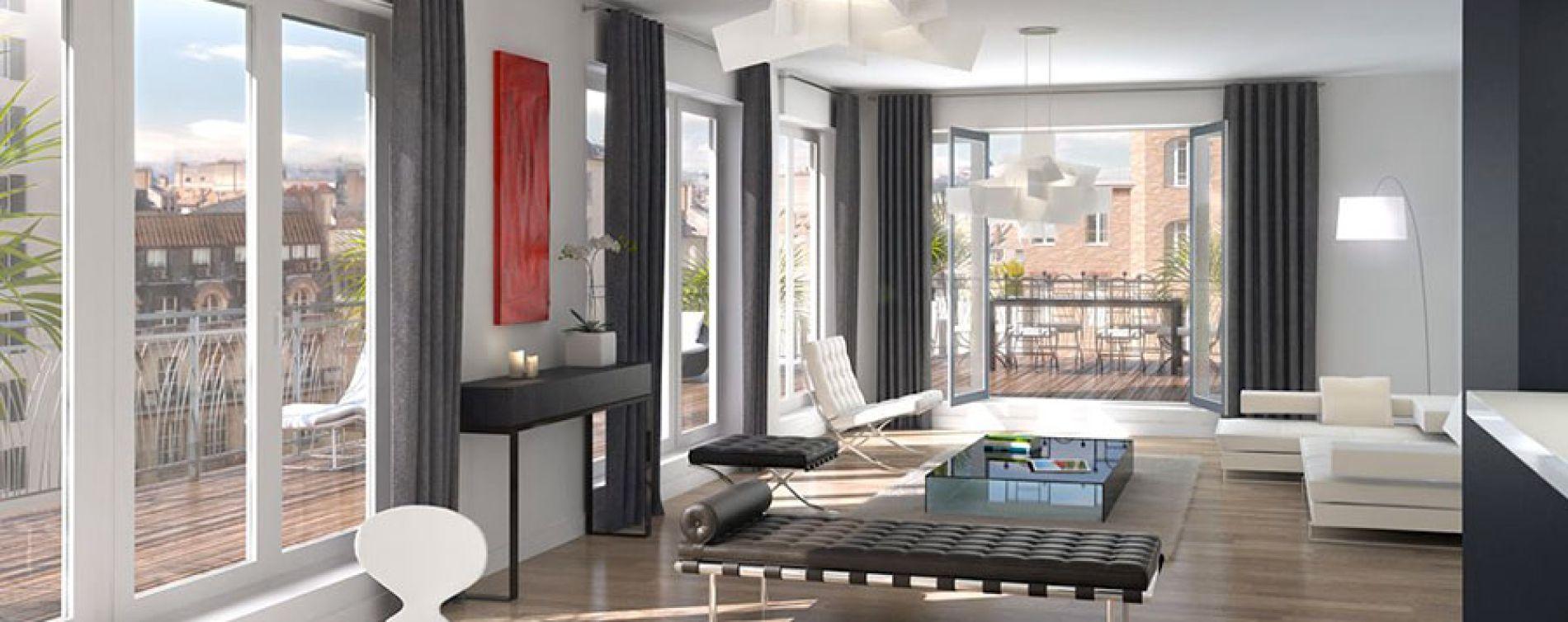 Toulouse : programme immobilier neuve « Les Arènes » en Loi Pinel (4)