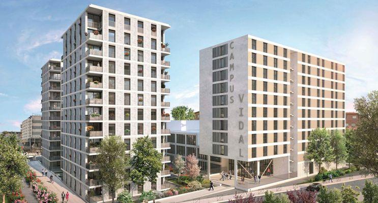 Résidence « Les Arènes » programme immobilier neuf en Loi Pinel à Toulouse n°1