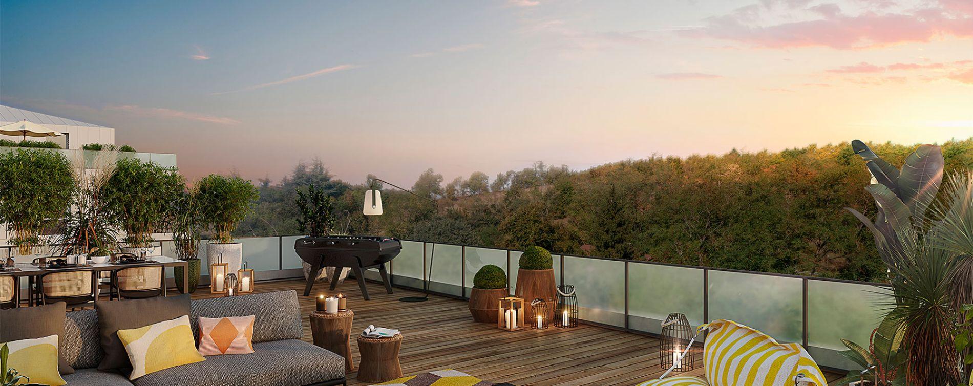 Toulouse : programme immobilier neuve « Les Balcons de Pech David » en Loi Pinel (2)