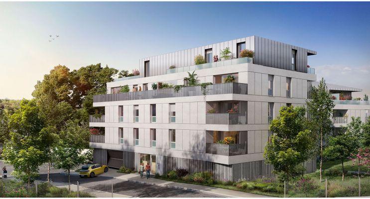 Toulouse : programme immobilier neuf « Les Balcons de Pech David » en Loi Pinel