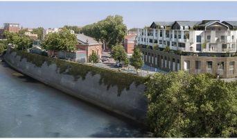 Toulouse : programme immobilier neuf « Les Belles Rives » en Loi Pinel
