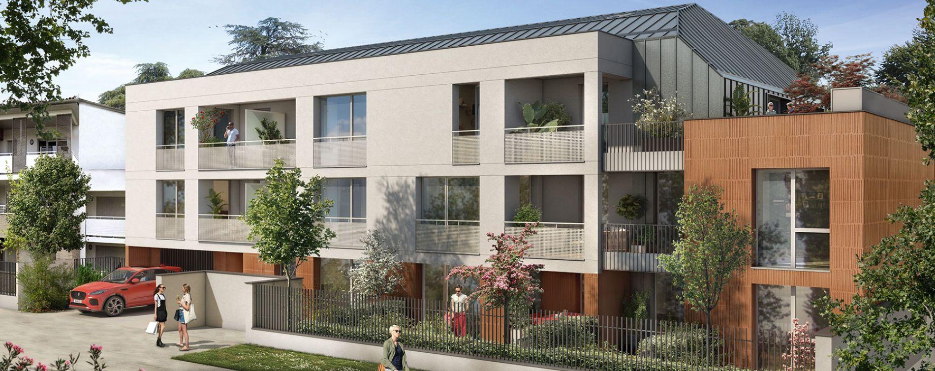 Toulouse : programme immobilier neuve « Les Camélias » en Loi Pinel