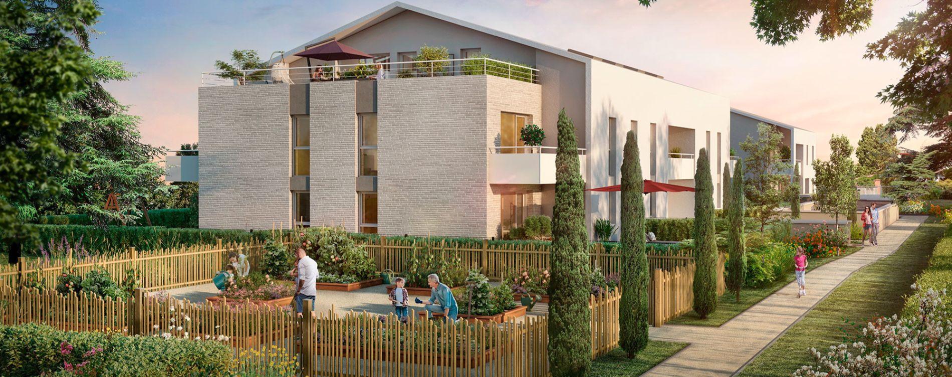 Toulouse : programme immobilier neuve « Les Cèdes Bleus »