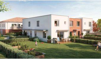 Toulouse : programme immobilier neuf « Les Jardins d'Alexia » en Loi Pinel