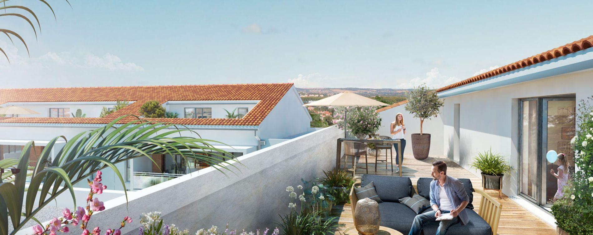 Toulouse : programme immobilier neuve « Les Jardins de Joséphine » en Loi Pinel