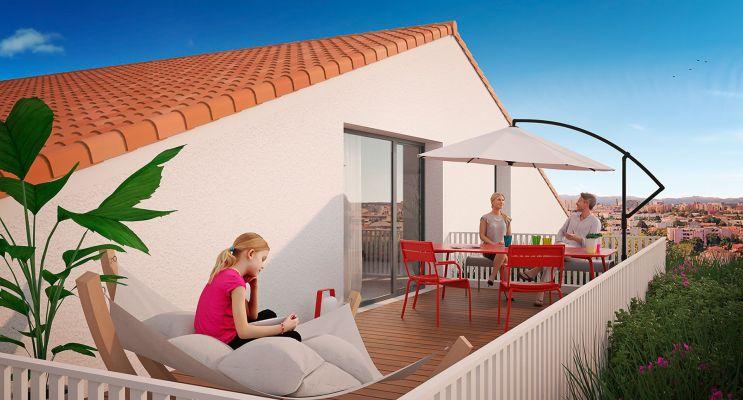 Photo du Résidence « Les Jardins de Maël » programme immobilier neuf en Loi Pinel à Toulouse