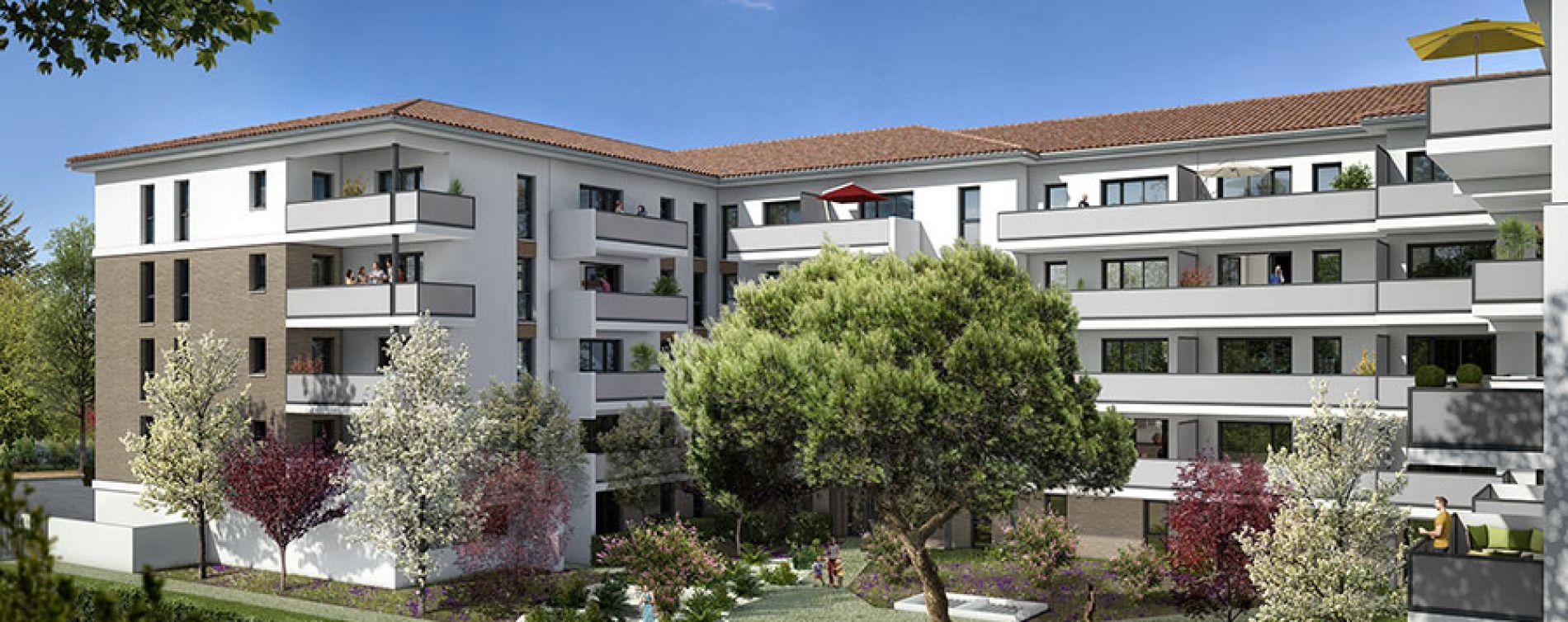 Toulouse : programme immobilier neuve « Les Jardins du Pastel »