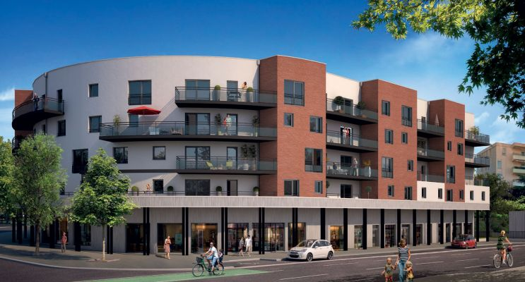 Toulouse : programme immobilier neuf « Les Terrasses de Gonin » en Loi Pinel