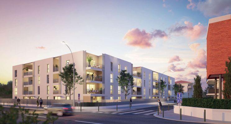 Photo du Résidence « Les Terrasses d'Eugène » programme immobilier neuf en Loi Pinel à Toulouse