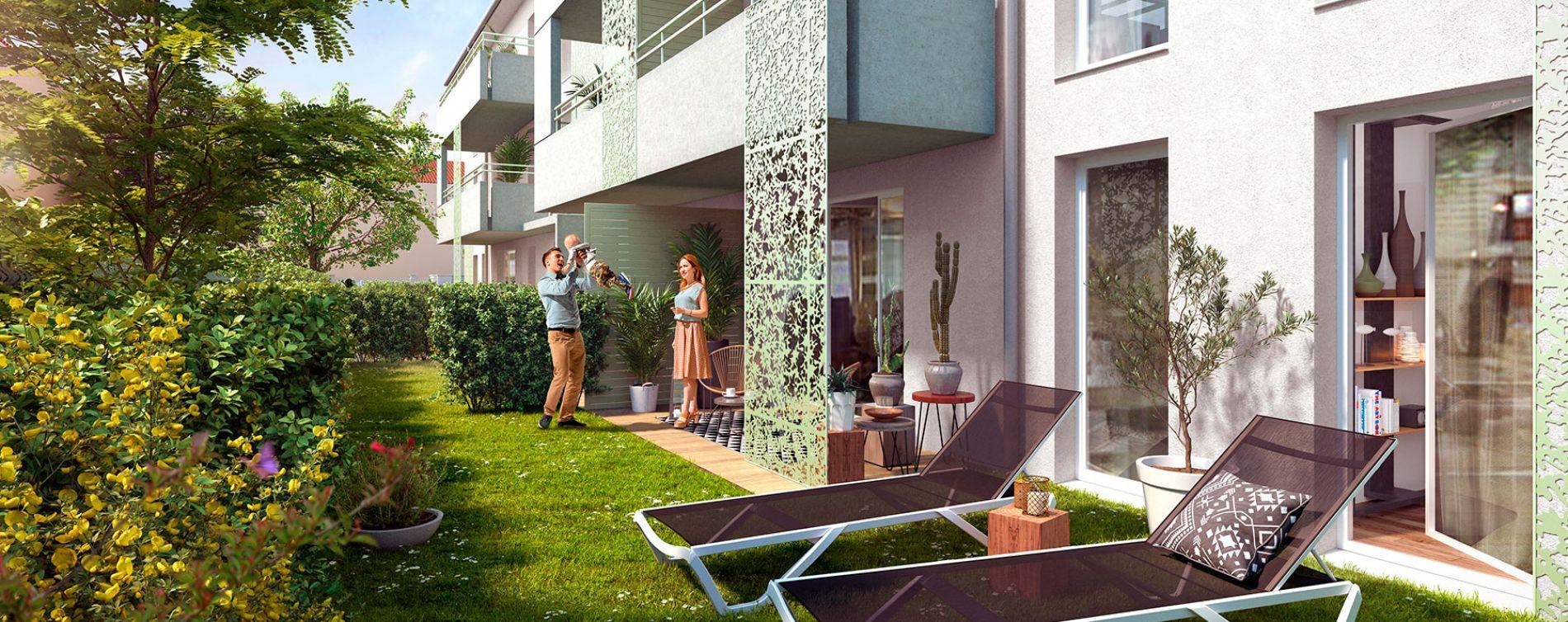 Toulouse : programme immobilier neuve « L'Estival »