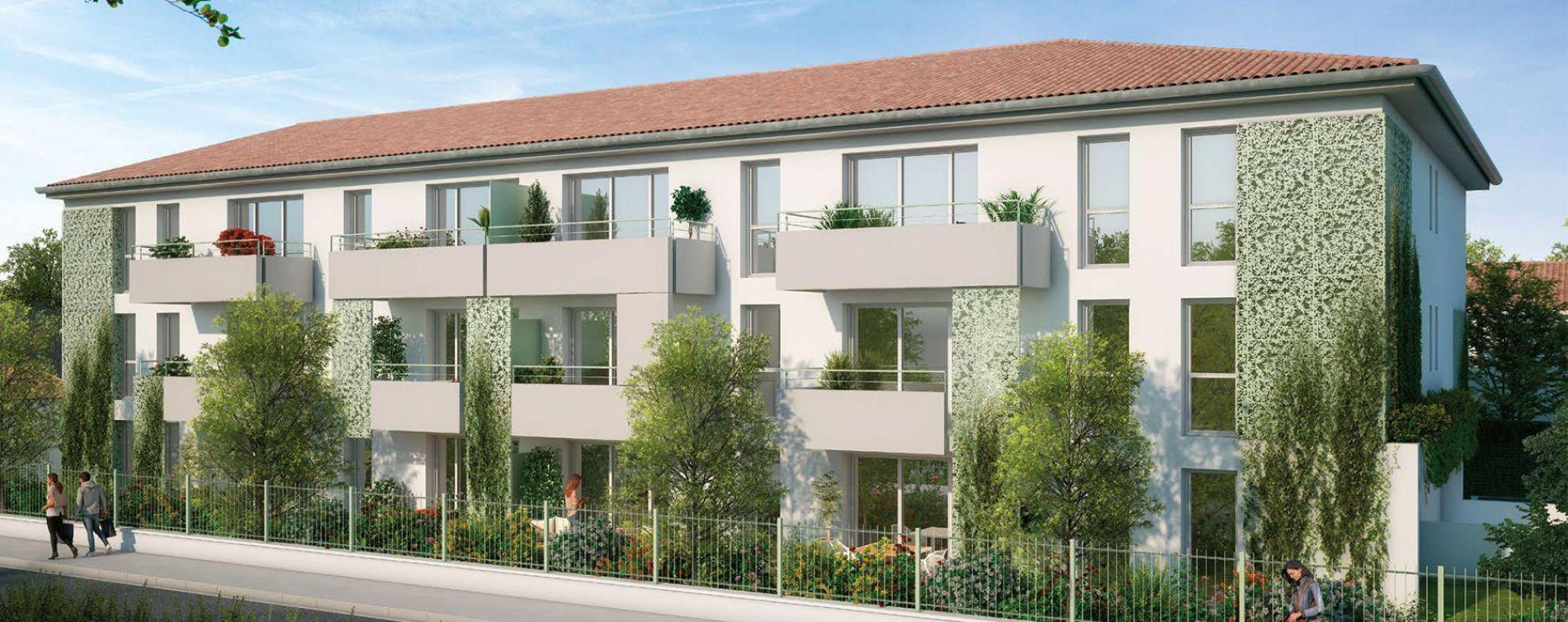 Toulouse : programme immobilier neuve « L'Estival » (2)