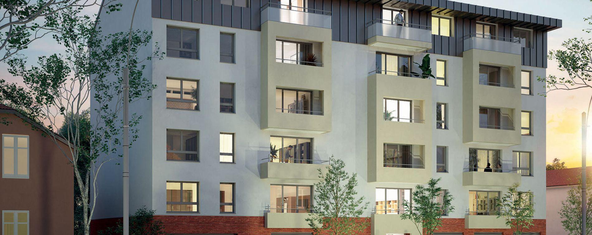 Toulouse : programme immobilier neuve « L'Indépendance » en Loi Pinel