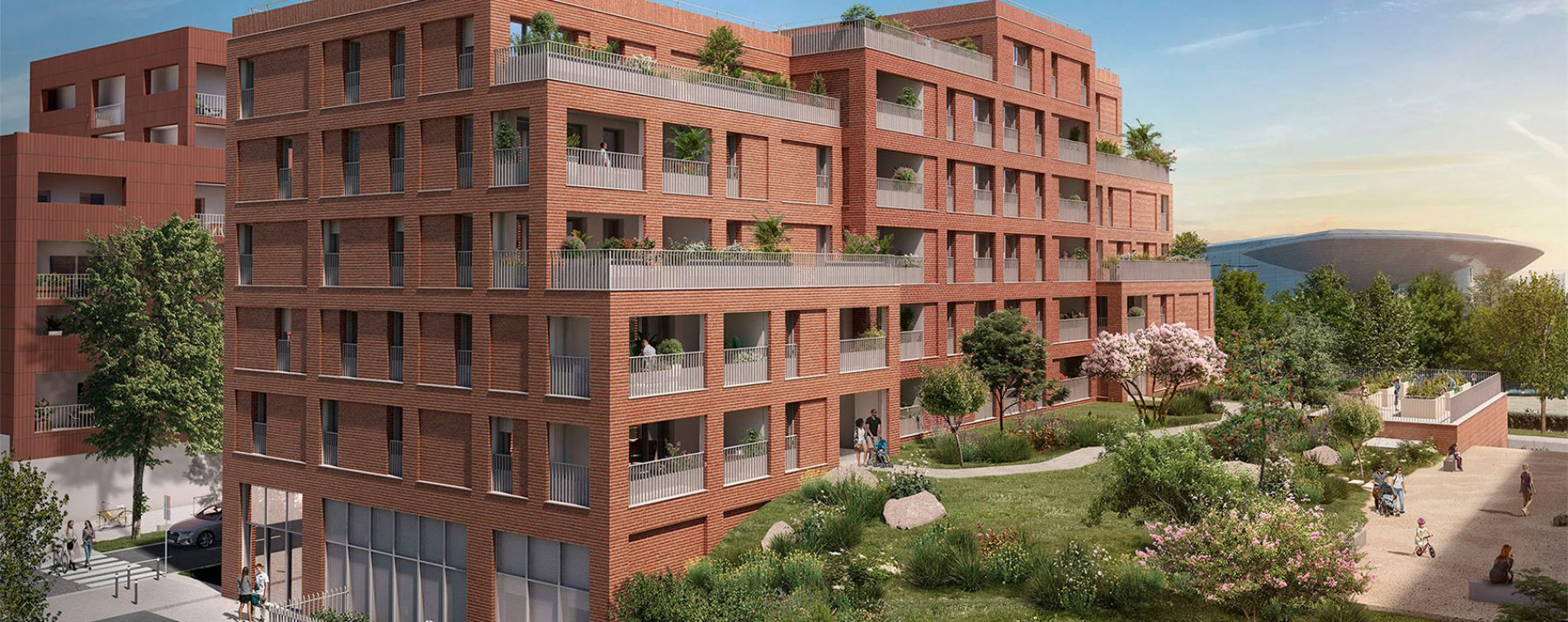 Toulouse : programme immobilier neuve « Live in Osmose » en Loi Pinel