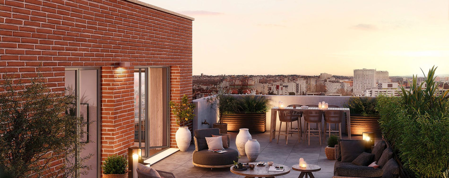 Toulouse : programme immobilier neuve « Live in Osmose » en Loi Pinel (3)