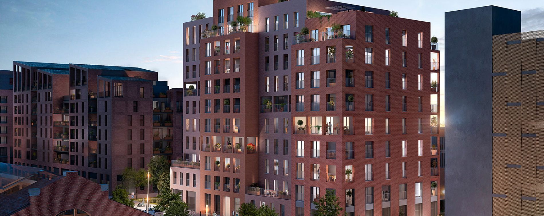 Toulouse : programme immobilier neuve « Live in Osmose » en Loi Pinel (4)