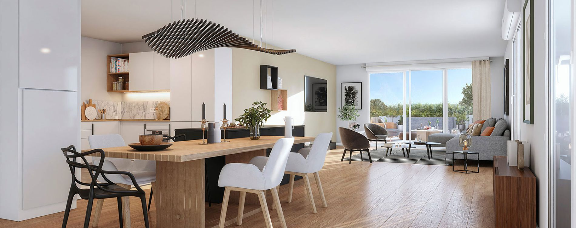 Toulouse : programme immobilier neuve « Live in Osmose » en Loi Pinel (5)