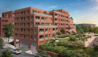 Toulouse : programme immobilier neuf « Live in Osmose » en Loi Pinel