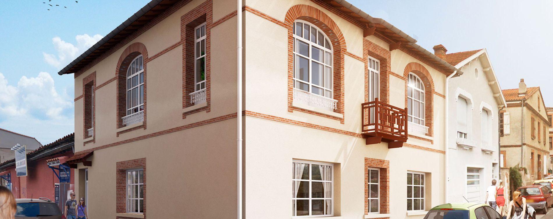 Toulouse : programme immobilier neuve « Loréa »