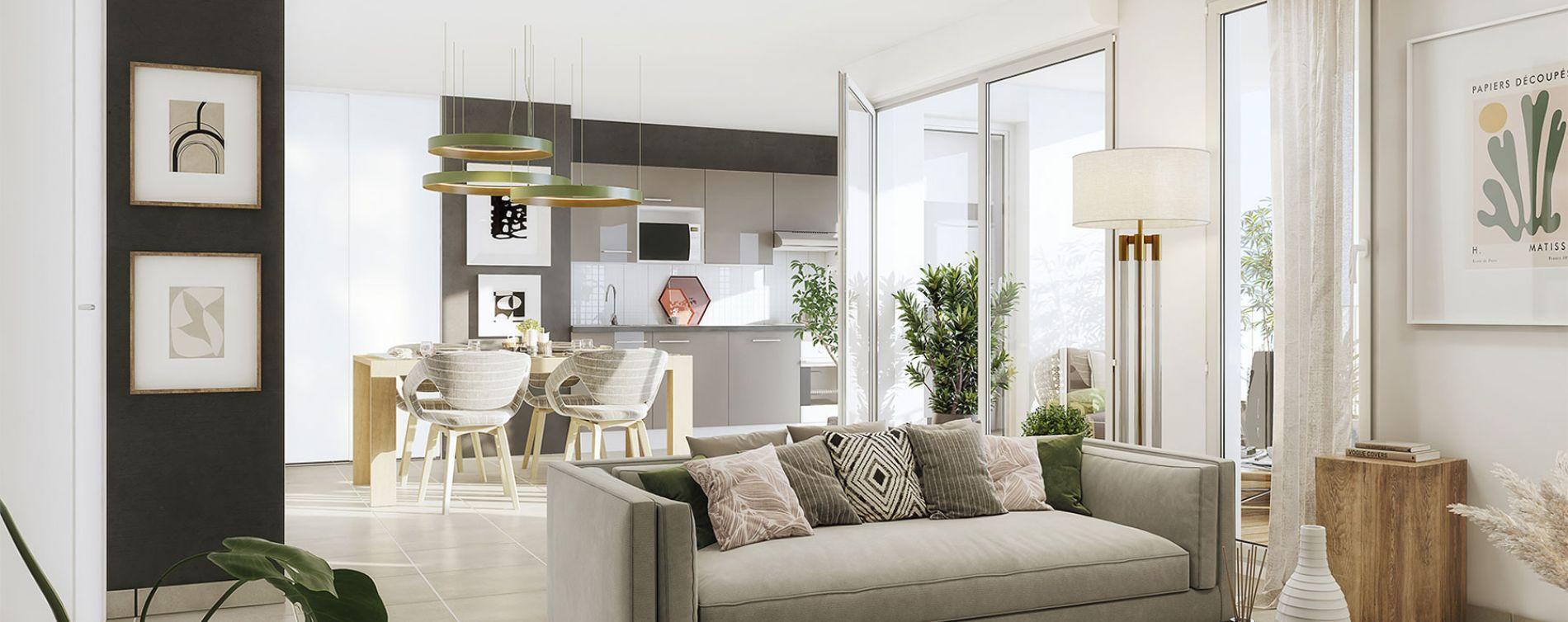 Toulouse : programme immobilier neuve « Métropolis » en Loi Pinel (3)