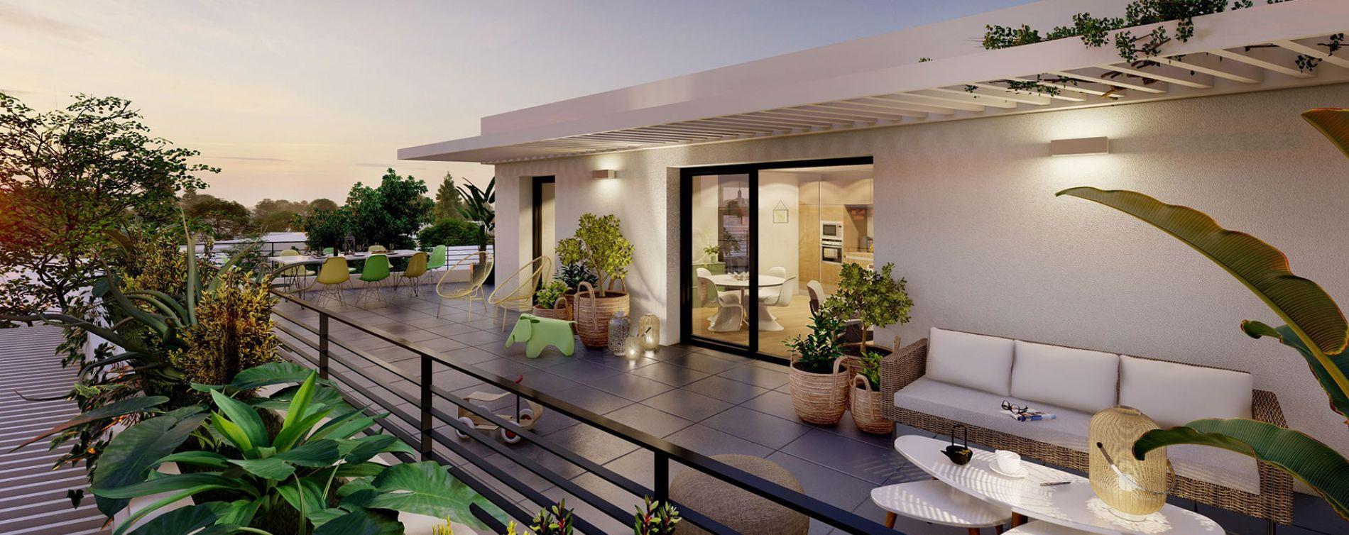 Toulouse : programme immobilier neuve « Nao » en Loi Pinel