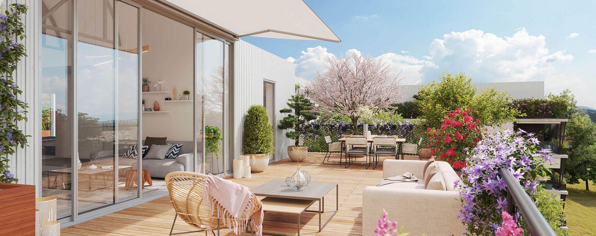 Toulouse : programme immobilier neuve « Natura » en Loi Pinel (2)