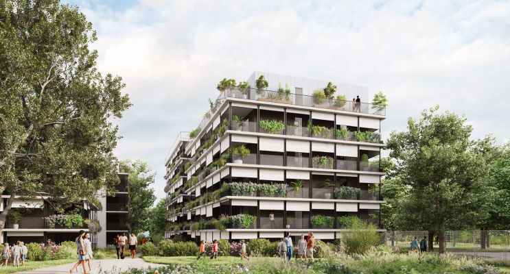 Photo du Résidence « Natura » programme immobilier neuf en Loi Pinel à Toulouse