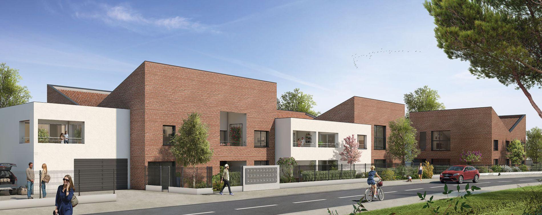 Toulouse : programme immobilier neuve « Naturéa » en Loi Pinel