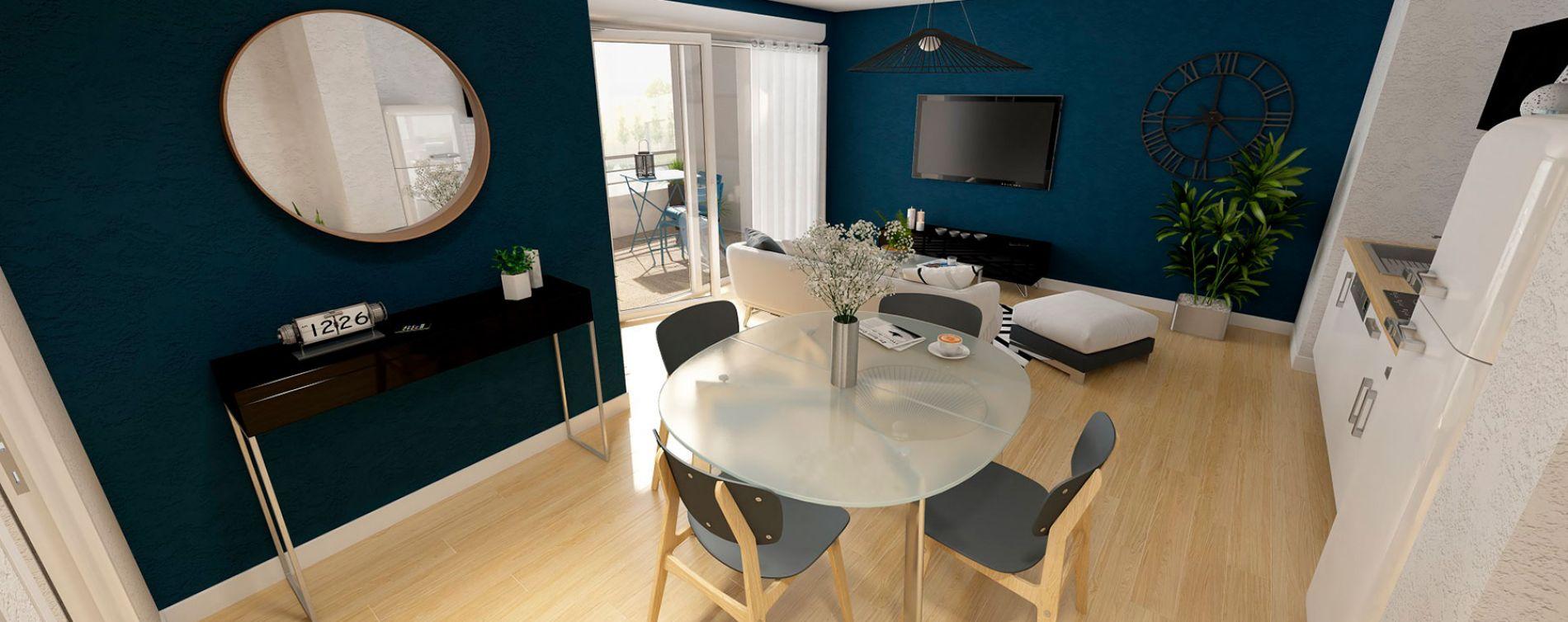Toulouse : programme immobilier neuve « Naturéa » en Loi Pinel (4)