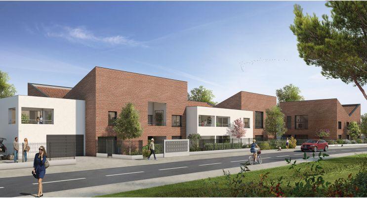 Photo du Résidence « Naturéa » programme immobilier neuf en Loi Pinel à Toulouse