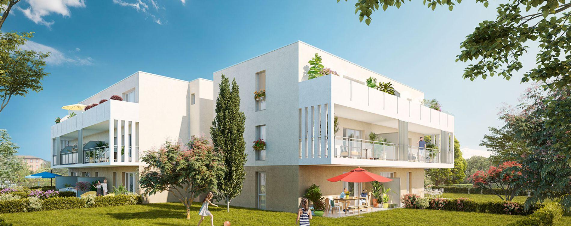 Toulouse : programme immobilier neuve « Noria » (2)