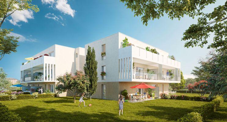 Résidence « Noria » programme immobilier neuf en Loi Pinel à Toulouse n°2