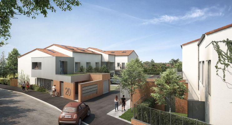 Photo n°1 du Résidence « Nova Toulouse » programme immobilier neuf en Loi Pinel à Toulouse