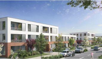 Résidence « Nuances Celadon » programme immobilier neuf en Loi Pinel à Toulouse n°2