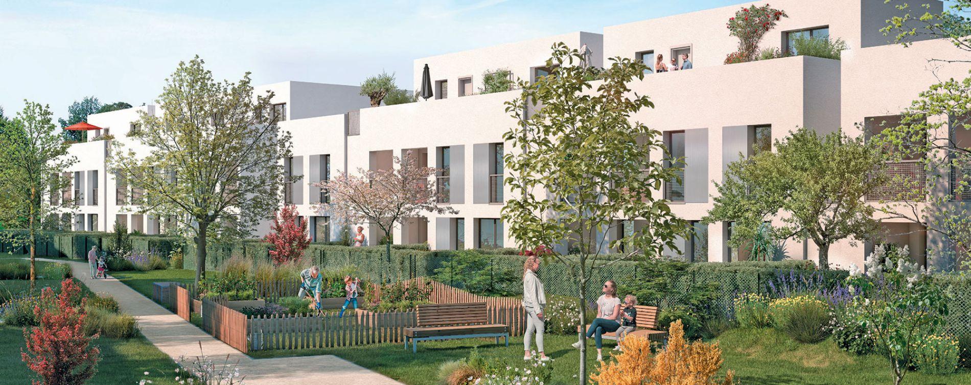 Toulouse : programme immobilier neuve « Nuances Opaline » en Loi Pinel