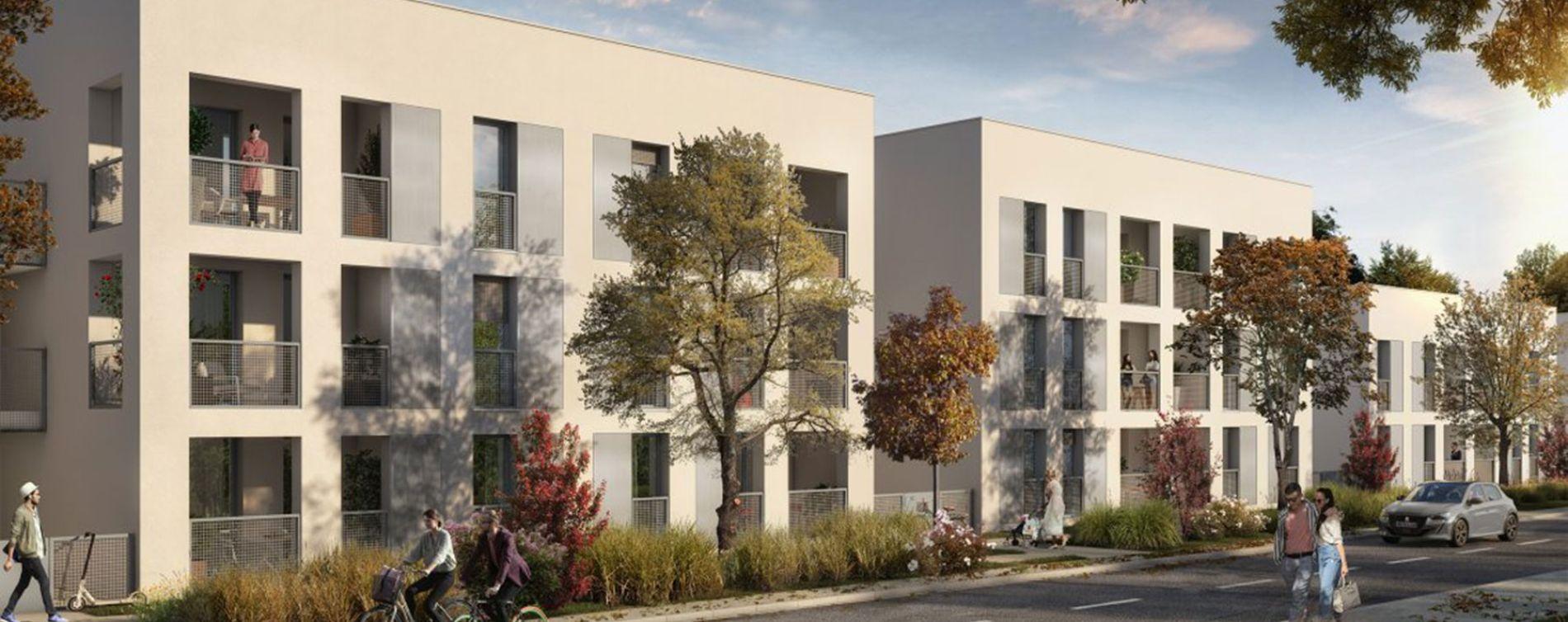 Toulouse : programme immobilier neuve « Nuances Opaline » en Loi Pinel (2)