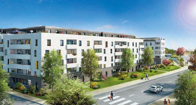 Résidence « Ô Garonne » programme immobilier neuf en Loi Pinel à Toulouse n°2