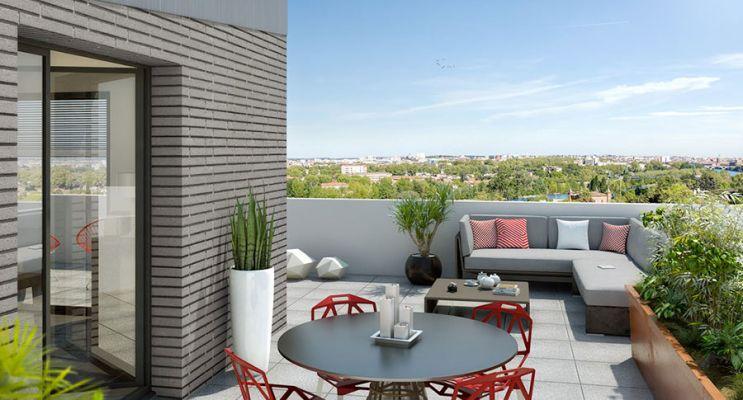 Résidence « Ô Garonne » programme immobilier neuf en Loi Pinel à Toulouse n°4
