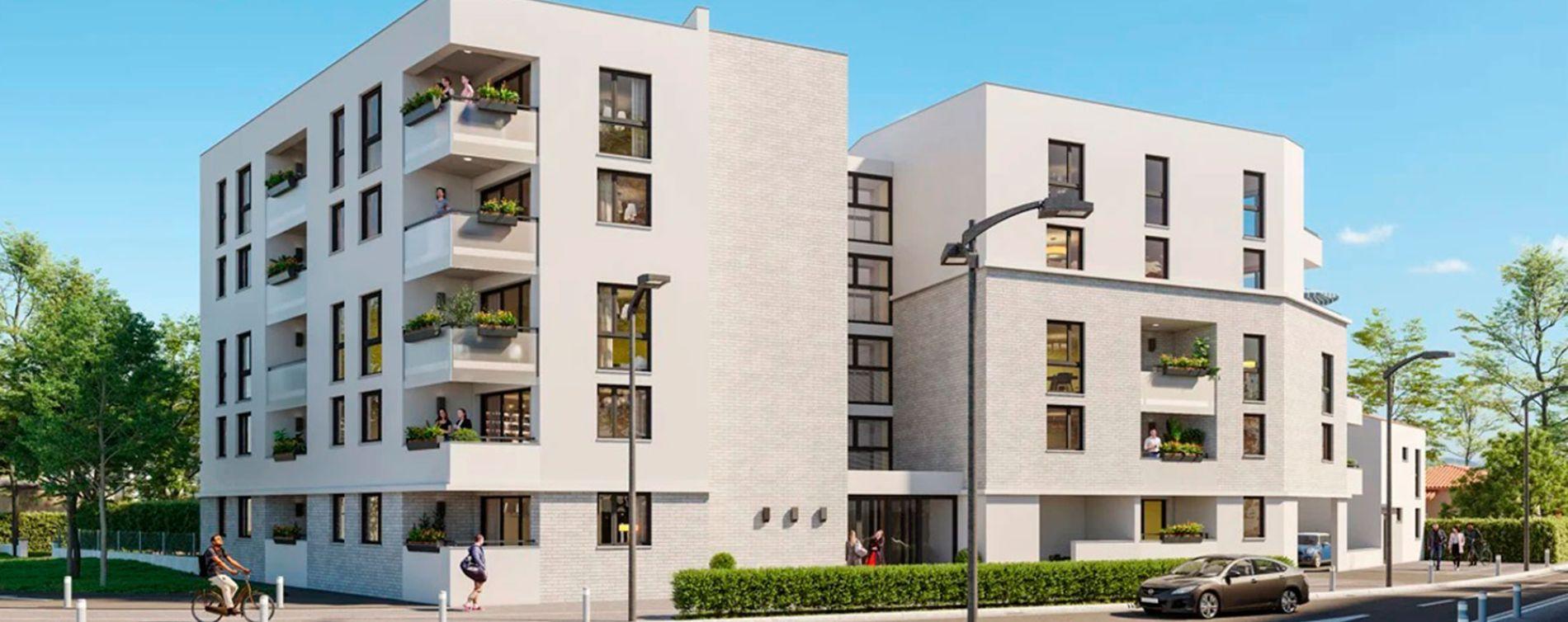 Toulouse : programme immobilier neuve « Ô Georgia » (2)